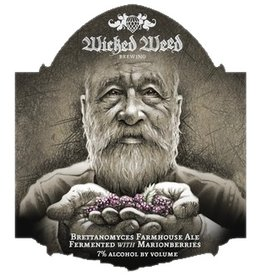 Wicked Weed 'Ferme de Grand-pere' Farmhouse Ale 500ml