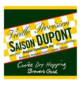 Dupont 'Saison Cuvee Dry-Hopping Brewers Gold - 2016' 750ml