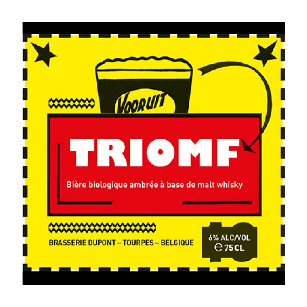 Dupont 'Triomfbier Vooruit' 750ml