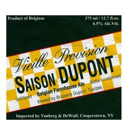 Dupont 'Saison' Farmhouse Ale 750ml