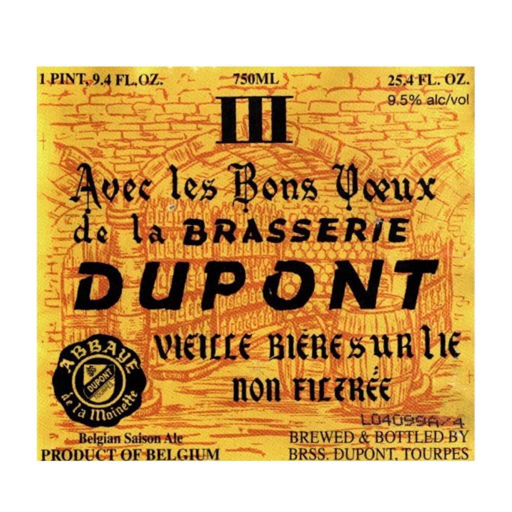 Dupont 'Avec Les Bons Voeux' Winter Saison 750ml