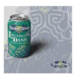 Wicked Weed 'Lieutenant Dank' IPA 12oz (Can)