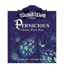 Wicked Weed 'Pernicious IPA' (12oz - Box of 24 - Case Discount)