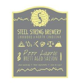 Steel String 'Poor Laurie' Brett Aged Saison 500ml