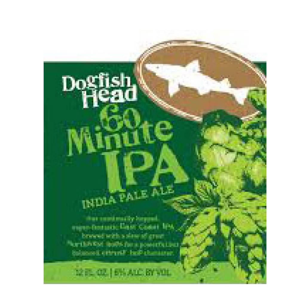 Dogfish Head '60 Minute Case' (12oz - Box of 24)