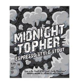 Nantahala 'Midnight Topher' Espresso Stout 22oz