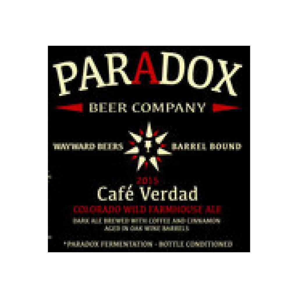 Paradox 'Cafe Verdad' Mexican Coffee & Cinnamon Ale 500ml
