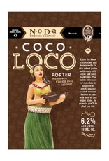 NoDa 'Coco Loco' Cocoa Coconut Porter 16oz Sgl (cans)