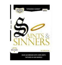 Big Boss Big Boss 'Saints and Sinners' 12oz Sgl