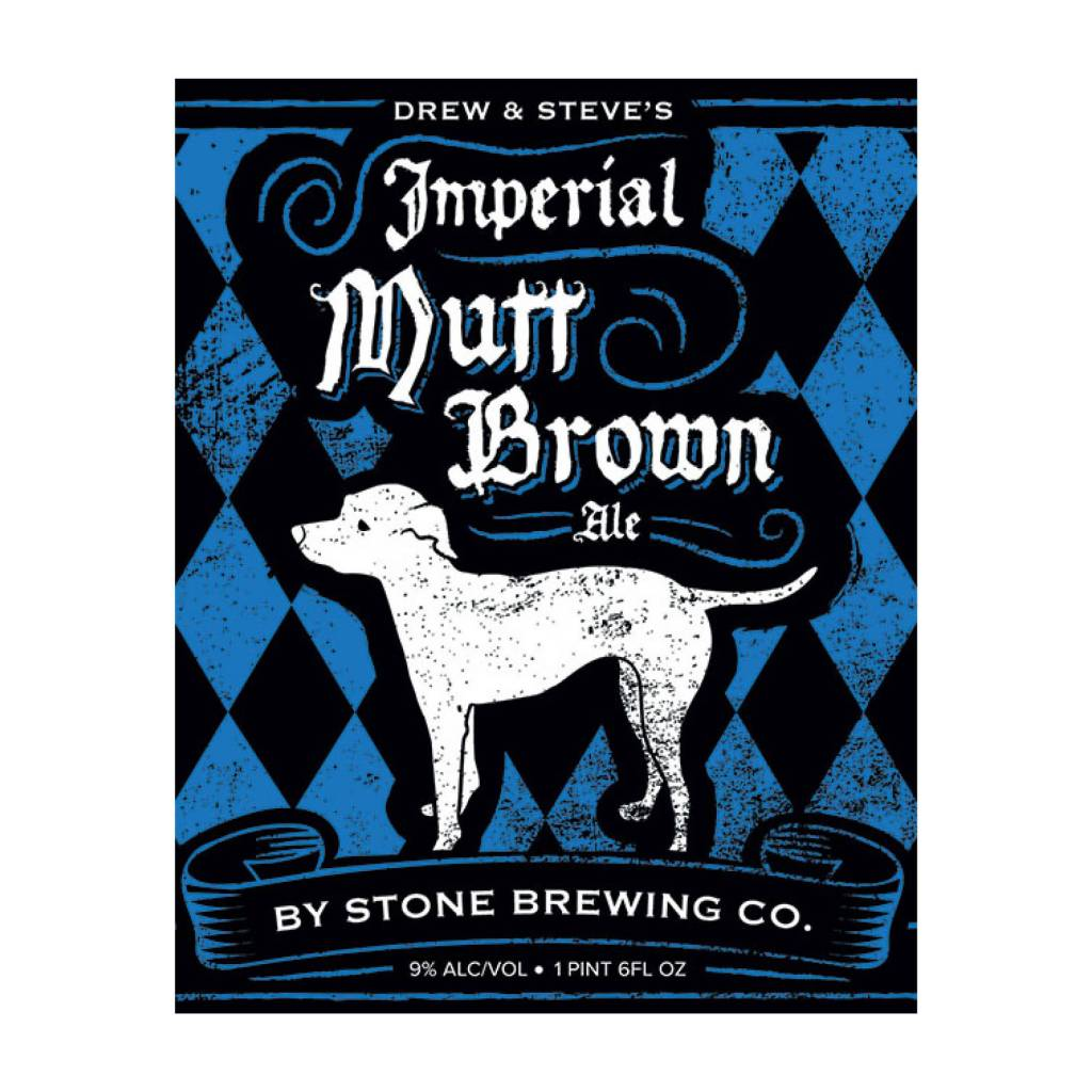Stone 'Imperial Mutt Brown' Ale 22oz