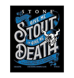 Stone 'Give Me Stout or Give me Death' Blackberry & Raspberry Stout 22oz