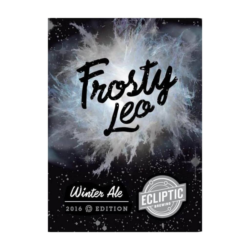 Ecliptic 'Frosty Leo' Winter Ale 22oz