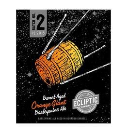 Ecliptic 'Barrel-Aged Orange Giant' Barleywine Ale 22oz
