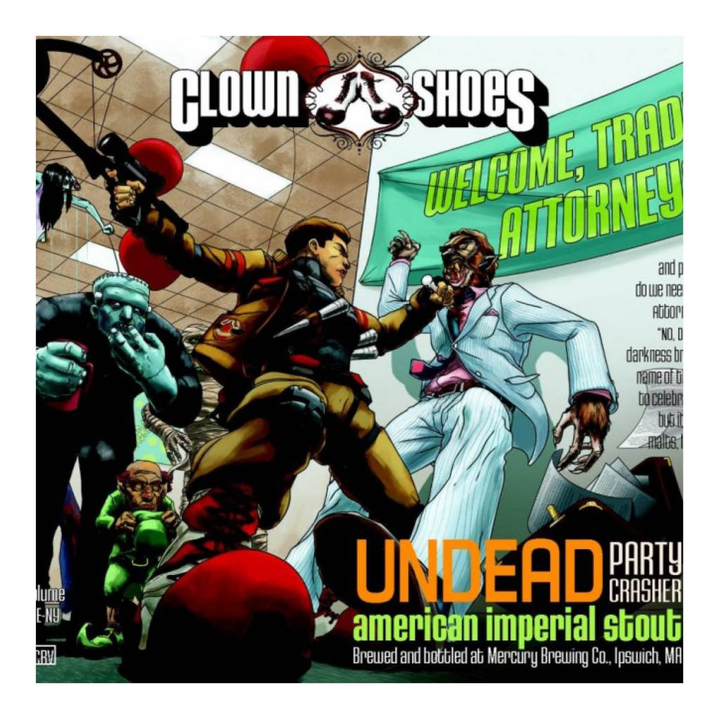 Clown Shoes 'Undead Party Crasher' Imperial Stout ...