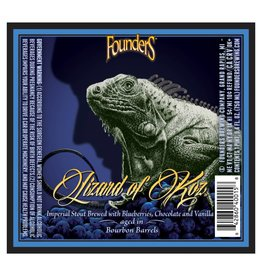 Founders 'Lizard of Koz' Barrel Aged Imperial Stout 750ml