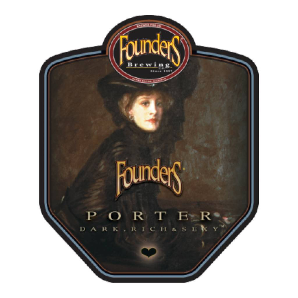 Founders Brewing Co. 'Porter' 12oz Sgl