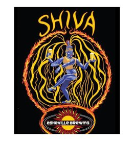 Asheville Brewing Shiva IPA Case (12oz - Box of 24)