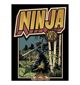 Asheville Brewing Ninja Porter Case (12oz - Box of 24)