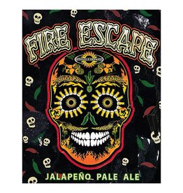 Asheville Brewing Co. 'Fire Escape' Jalapeno Pale Ale 22oz