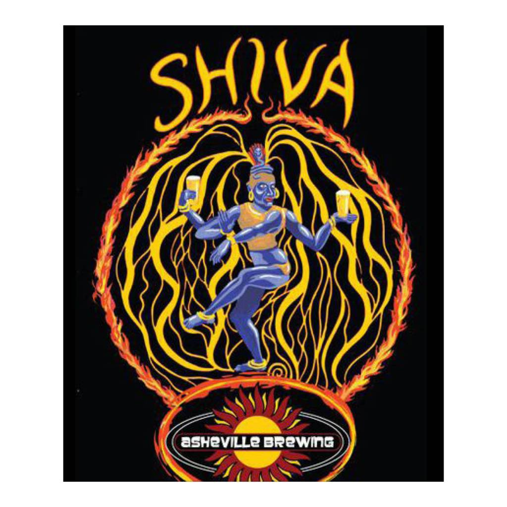 Asheville Brewing 'Shiva' IPA 12oz Sgl (Can)