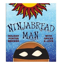 Asheville Brewing 'NinjaBread Man' Porter 22oz