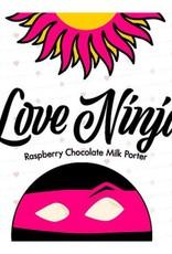 Asheville Brewing Co. 'Love Ninja' Raspberry Chocolate Milk Porter 22oz