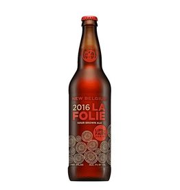 New Belgium 'La Folie - 2016' 22oz