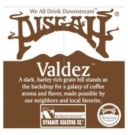 Pisgah 'Valdez' Coffee Stout 12oz (Can)
