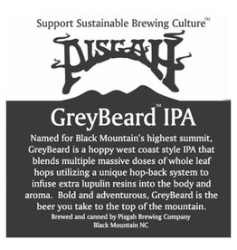 Pisgah 'Greybeard IPA' Case (12oz - Box of 24)