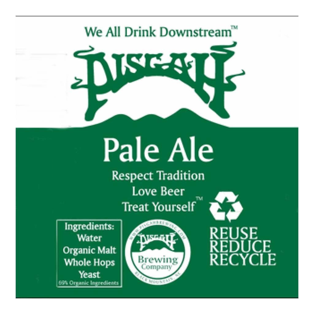 Pisgah 'Pale Ale' Case (12oz - Box of 24)