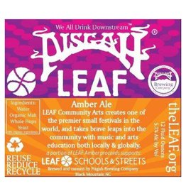 Pisgah 'LEAF' Amber 12oz (Can)
