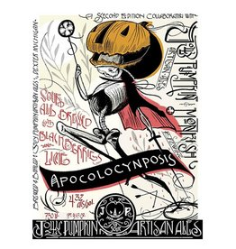 Jolly Pumpkin x Monkish 'Apocolocynposis' Sour Fruit Ale 750 ml