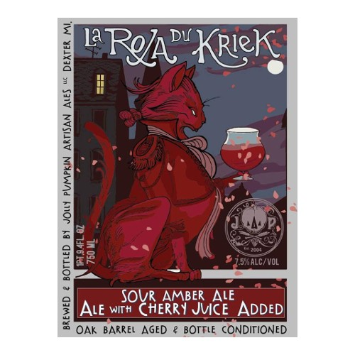 Jolly Pumpkin 'La Roja du Kriek' Sour Amber Ale 750ml