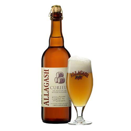 Allagash Brewing Co. 'Curieux' Tripel aged in Bourbon Barrels 750ml