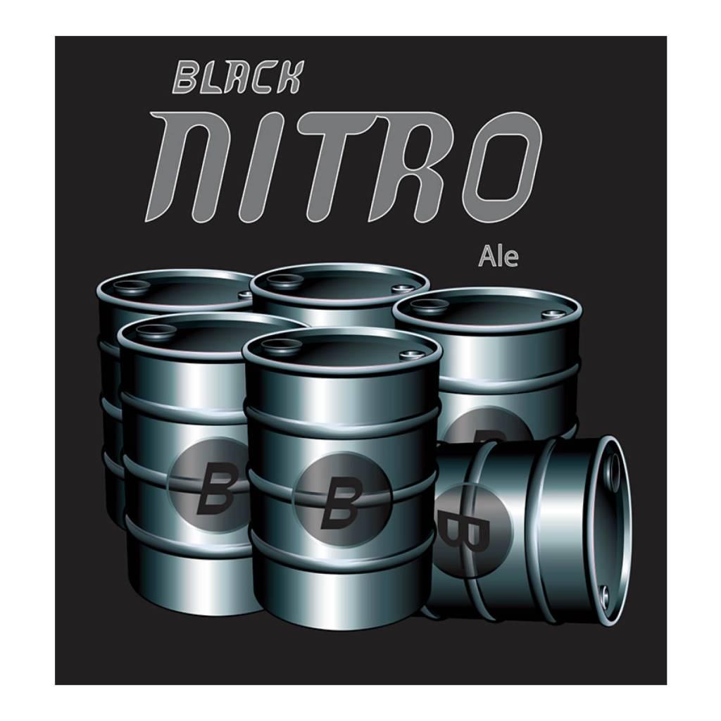 Amager x Grassroots 'Black Nitro' Ale 500ml