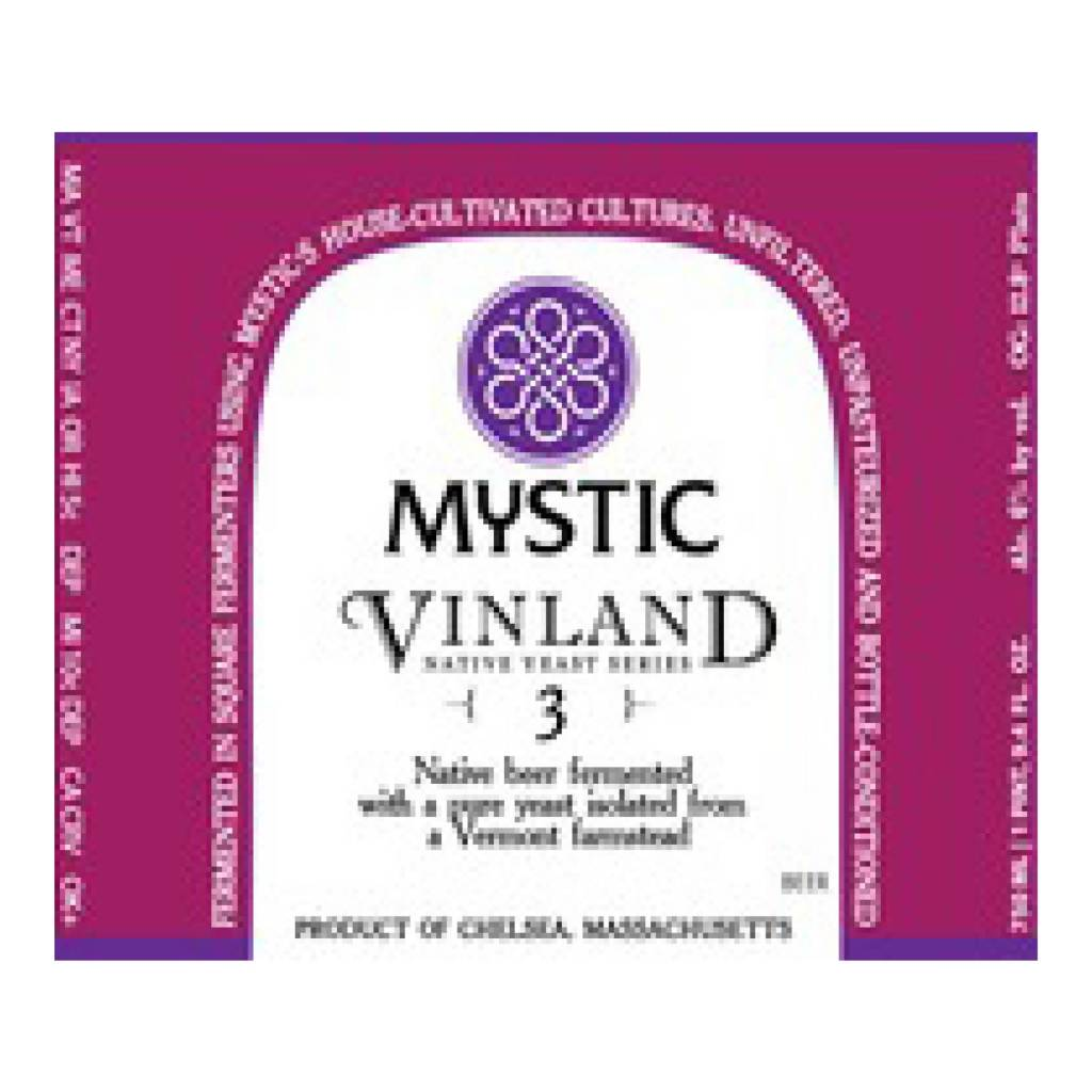 Mystic 'Vinland Three' Wild Ale 750ml