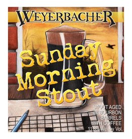 Weyerbacher 'Sunday Morning Stout' Aged in Bourbon Barrels w/ Coffee 12oz Sgl