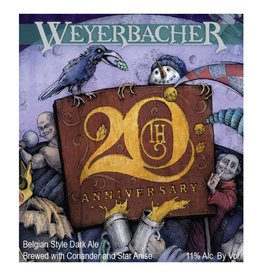 Weyerbacher '20th Anniversary' Ale 12oz Sgl