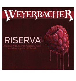 Weyerbacher 'Riserva' Oak Aged Wild Ale w/ Raspberries 750ml