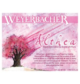 Weyerbacher 'Althea' Belgian-Style Dubbel Ale w/ Plums 750ml