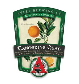 Avery 'Tangerine Quad' Aged in Bourbon Barrels 22oz