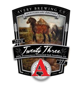 Avery 'Twenty Three' Anniversary Ale 22oz