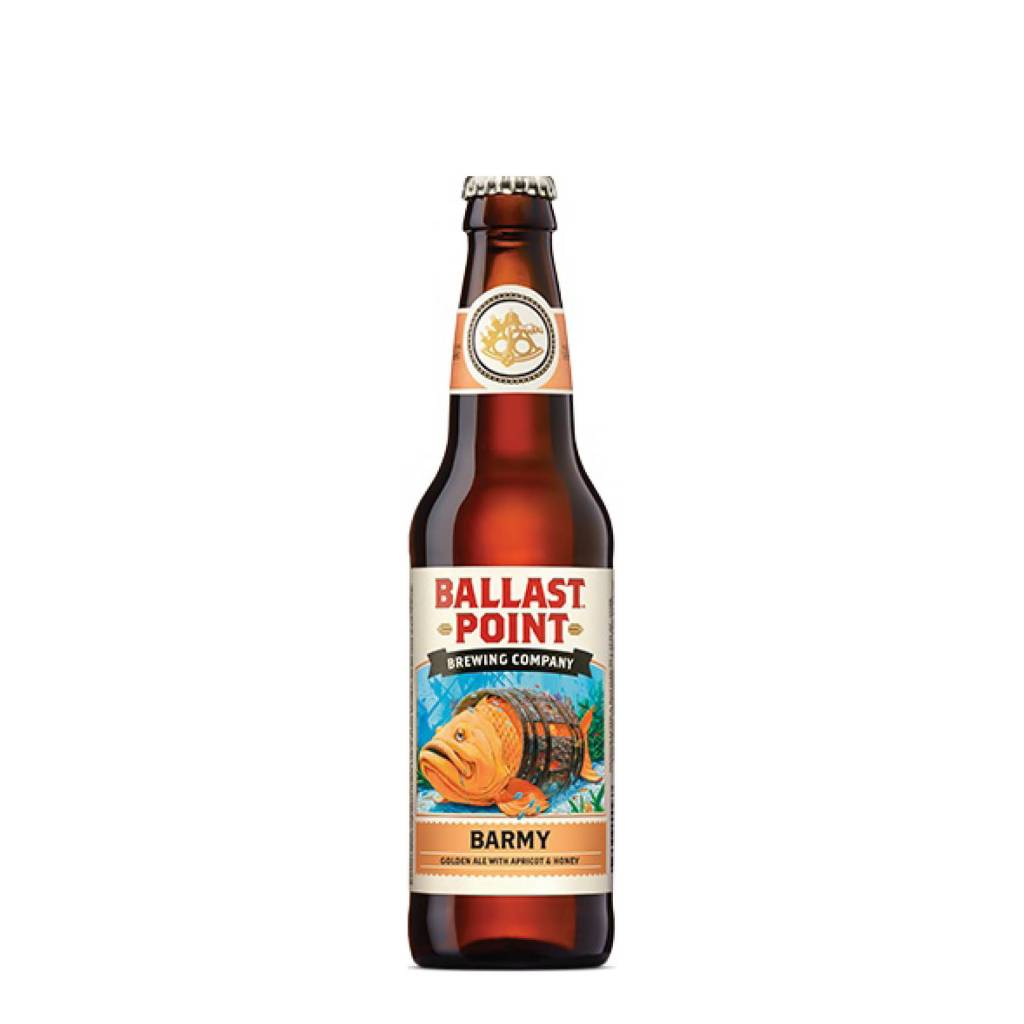 Ballast Point Brewing Co. 'Barmy' Golden Ale w/ Apricot and Honey 12oz Sgl