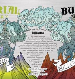 Burial 'Billows' Hoppy Kolsch 12oz Sgl (Can)