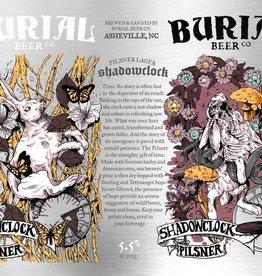 Burial 'Shadowclock' Pilsner 16oz (Can)