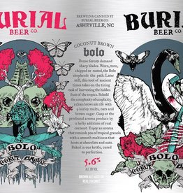 Burial 'Bolo Coconut Brown' 16oz Sgl (Can)