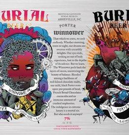 Burial 'Winnower' Chocolate Raspberry Porter 16oz Sgl
