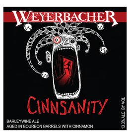 Weyerbacher 'Cinnsanity' Barrel Aged Barleywine 12oz Sgl