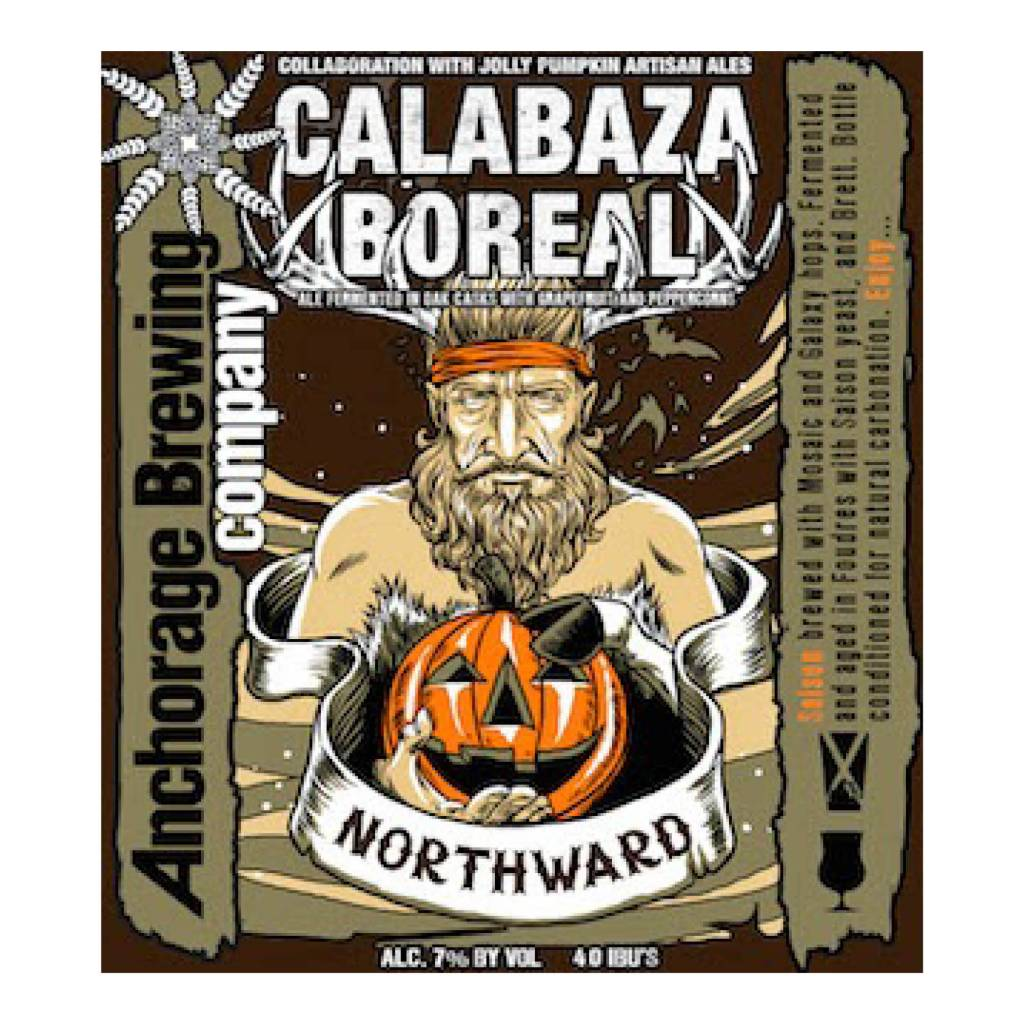 Anchorage x Jolly Pumpkin 'Calabaza Boreal' Saison 750mL