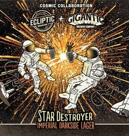 Ecliptic x Gigantic 'Star Destroyer' Imperial Darkside Lager 22oz
